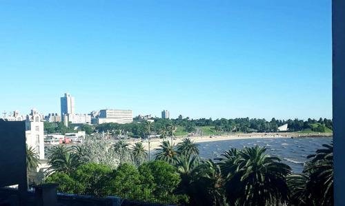 Apartamento Amoblado Rambla Parque Rodo Bajos Gastos Comunes
