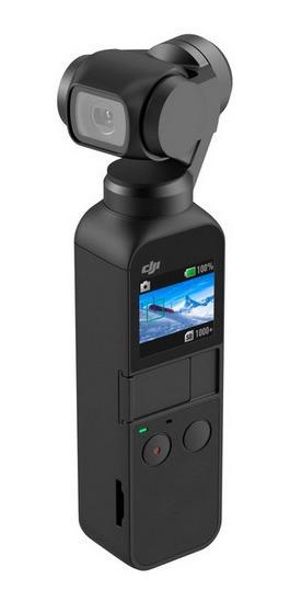 Osmo Pocket Dji 4k Com Estabilizador, Preto