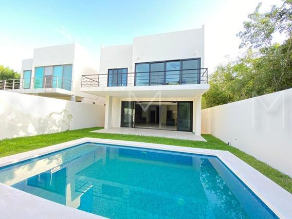 Venta De Casa En Lagos Del Sol, Cancun
