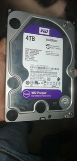 Disco Duro Western Digital Purple 4tb Wd40purz