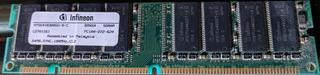 Memoria Ram Infineon 64mb Pc100 A 100mhz