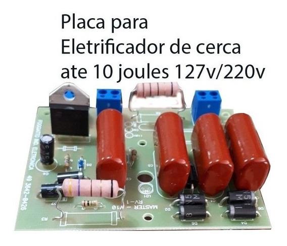 Placa Eletricador Rural Foggiatto10 Joules 127/220v Univer