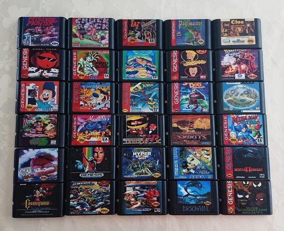 Cartuchos Sega Genesis Mega Drive Clássicos