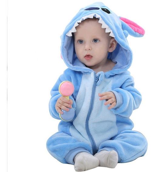 Mameluco Bebé Stitch Y Varios Personajes Pijama Moda 2020