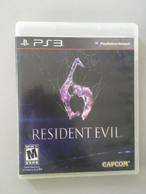 Resident Evil 6 Ps3 Playstation3 Original