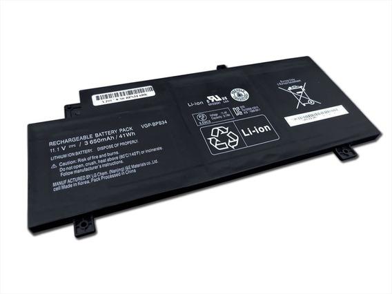 Bateria Notebook - Códigos Vgp-bps34 - Preta