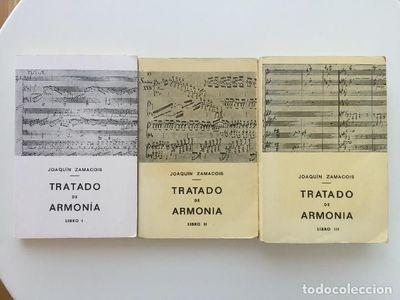 Livro Tratado De Armonía- 3 Vols Joaquín Zamacois