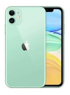Original Apple iPhone 11 256gb Verde Ios Dual Sim 12mp Desbl