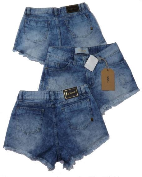 Short Jeans Zoomp Feminino-código Uni000619-universizeplus