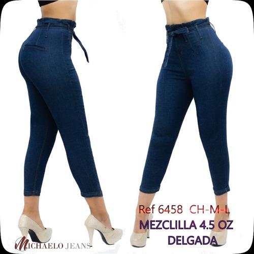 Jeans Dama Corte Colombiano Capri Michaelo Jeans Ref6458 Michaelo Jeans
