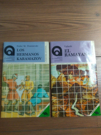 2 El Ramayana Valmiki / Los Hermanos Karamazov Dostoievski