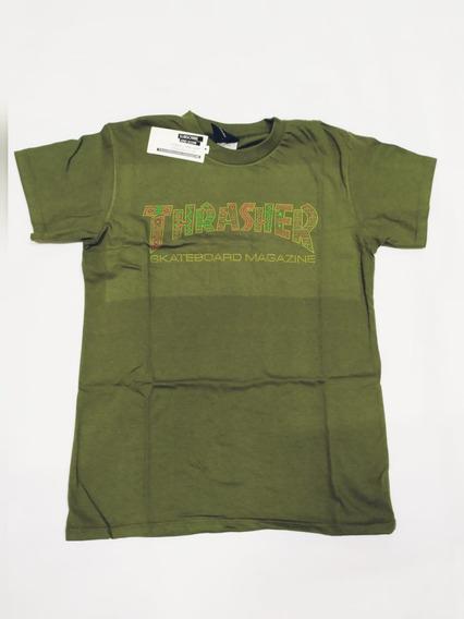 Remera Thrasher Logo Inca Verano 20 100% Original
