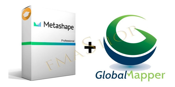 Agisoft Metashape + Global Mapper V20