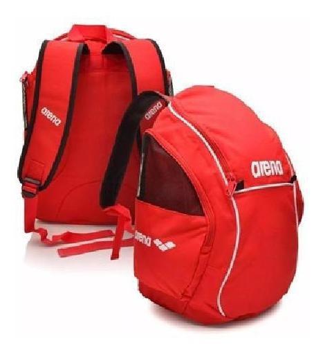 Mochila Natação Arena Backpack Sporty Vermelho