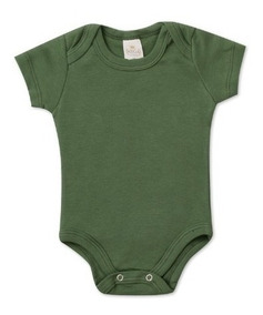 Kit 100 Body Bebê Suedine Algodão - P Ao G - Menino/menina