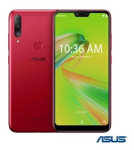 Celular Smartphone Asus Zenfone Max Shot Zb634kl 64gb Vermelho - Dual Chip