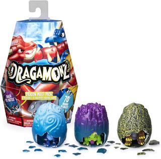 Dragamonz Dragon Multi Pack 3 Dragones Mas 18 Cartas Legenda