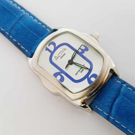 Relógio Feminino Activa Blue Lupah Swiss Movement