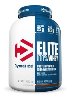 Whey Protein Elite Dymatize 2,3kg Concentrada + Isolada