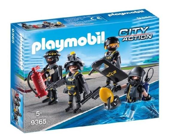 Playmobil - Equipo De Fuerzas Especiales