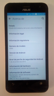 Telefono Celular Android 5.0, Marca Asus, Modelo Z00d