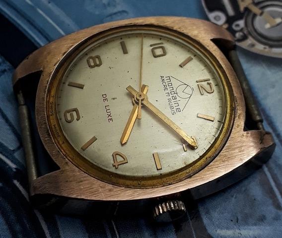 Relógio Mondaine Corda Manual Ótimo Estado De Conservação