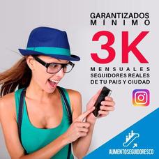 Seguidores Reales Instagram