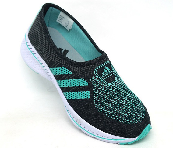 Tênis Feminino adidas Slip Run Preto E Verde