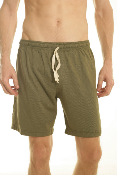 Pantalon Pijama Corto Hombre Jersey Verano