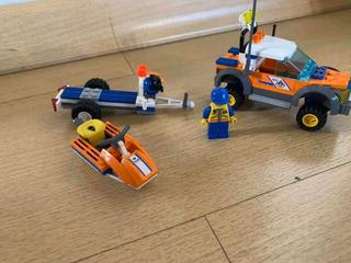 Lego City 7737- Guarda Costeira 4wd E Jet Scooter