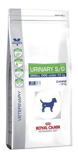 Alimento Royal Canin Veterinary Diet Canine Urinary S/O perro raza pequeña mix 4kg
