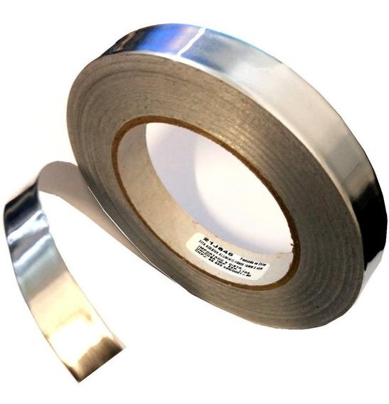Fita Alumínio Térmica Reflow Reballing Bga 20 Mm X 50 Mt