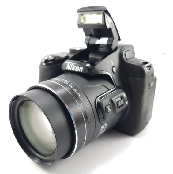 Cámara Semiautomática Nikon Coldplix P610