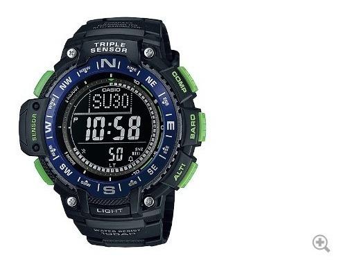 Relógio Casio Sgw 1000 2b Bússola Altímetro Barômetro Termo