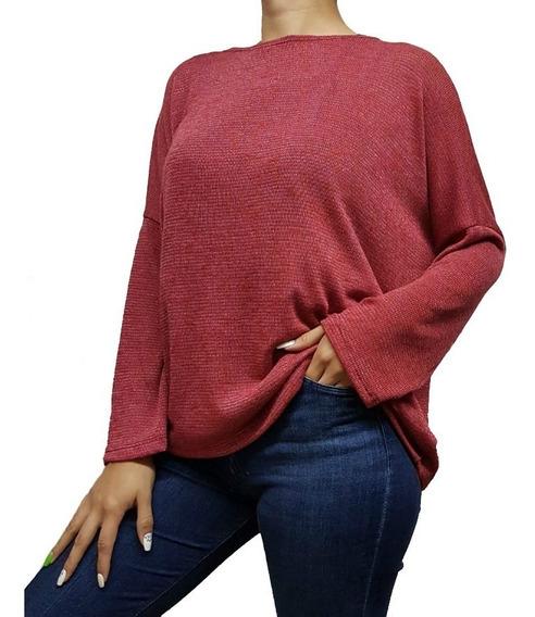 Remera Sweater Buzo Lurex Para Mujer