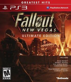 Juegos,fallout New Vegas Ultimate Edition - Playstation ..