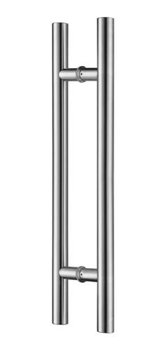 Barral Manijon Doble 38x1000 Mm. Inoxidable-todo Tipo Puerta