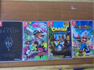 Paquete De 4 Juegos Para Nintendo Switch