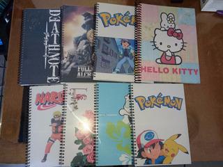 Cuadernos Personalizados Con Tus Personajes Favoritos