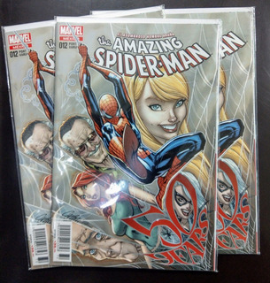Comic The Amazing Spiderman No.12 Variante Campbell Marvel