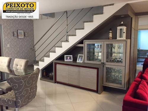 Imagem 1 de 14 de Excelente Casa Duplex Com 3 Suites E Área De Lazer Com  Piscina Praia Do Morro. - Ca00038 - 3445061