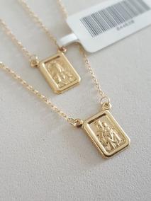 Escapulário Masculino Ouro 18k (muito Barato) 60 Cm Promoção