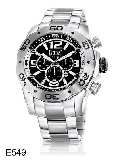 Relógio Pulso Everlast Masculino Com Calendário E549