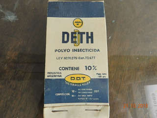 Antiguo Insecticida Deth