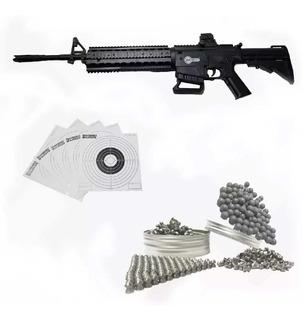 Rifle Aire Comprimido Carabina Tipo Rambo Mas Regalos Mas Envio Incluido!