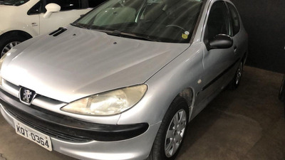 Peugeot 206 1.0 Sensation 16v Gasolina 4p Manual 2003/20...