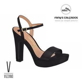 9c012fc062 Sandalia Salto Quadrado Vizzano - Sandálias para Feminino no Mercado ...
