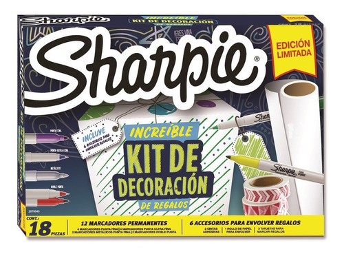 Imagen 1 de 4 de Sharpie Regalos Super Kit