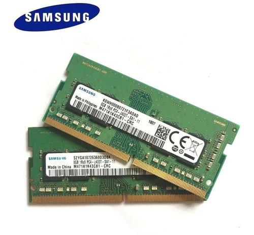 Memória Ram 8gb 1x8gb Samsung M471a1k43cb1-crc