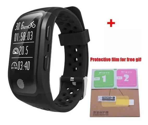 Smartband Rélogio S908 Gps Bluetooth Corrida Ciclimo Esport